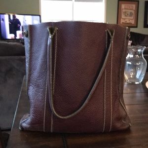 Jcrew Leather Tote